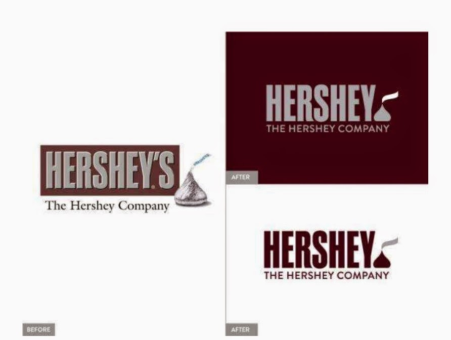 Why Does Hershey's New Logo Look like Emoji Poop?
