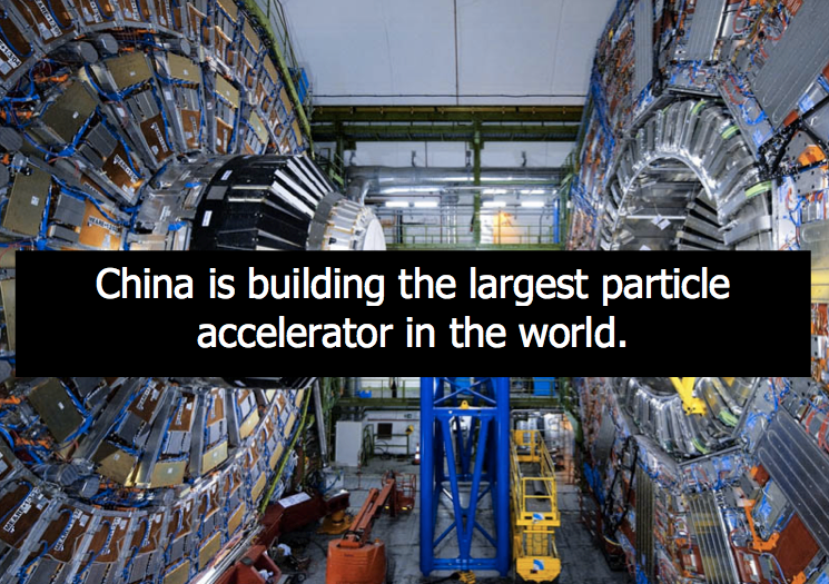 China is Building The World's Largest Particle Accelerator, So They Can Destroy God Particle, Jesus, America and Your Family