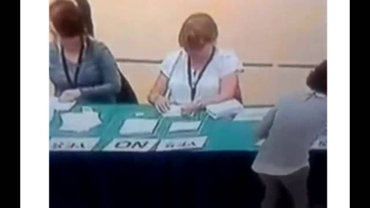 Breaking:  Proof Scottish Independence Vote Was Rigged