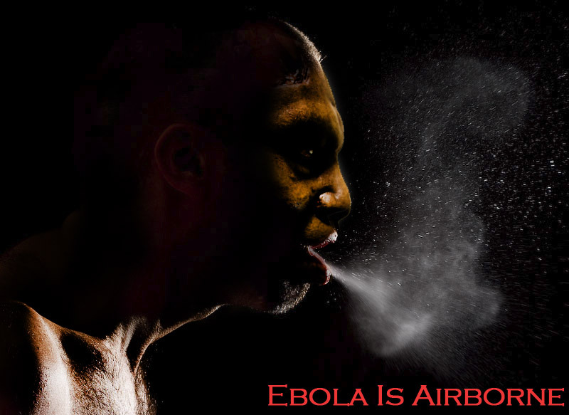 Dallas Texas Ebola Haemorrhagic Fever is Airborne