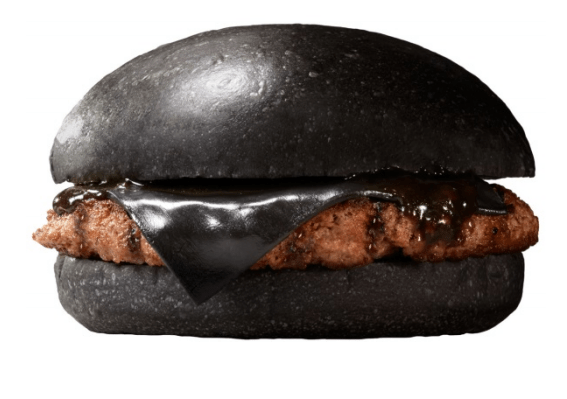 You Can Now Buy Gothic Black Burgers At Burger King in Japan