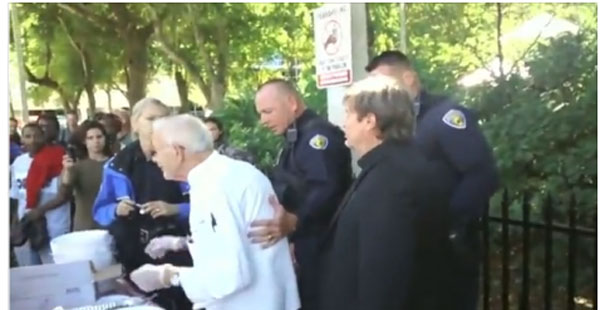Obama's America:  90-Year-Old, 2 Pastors Arrested for Feeding The Homeless
