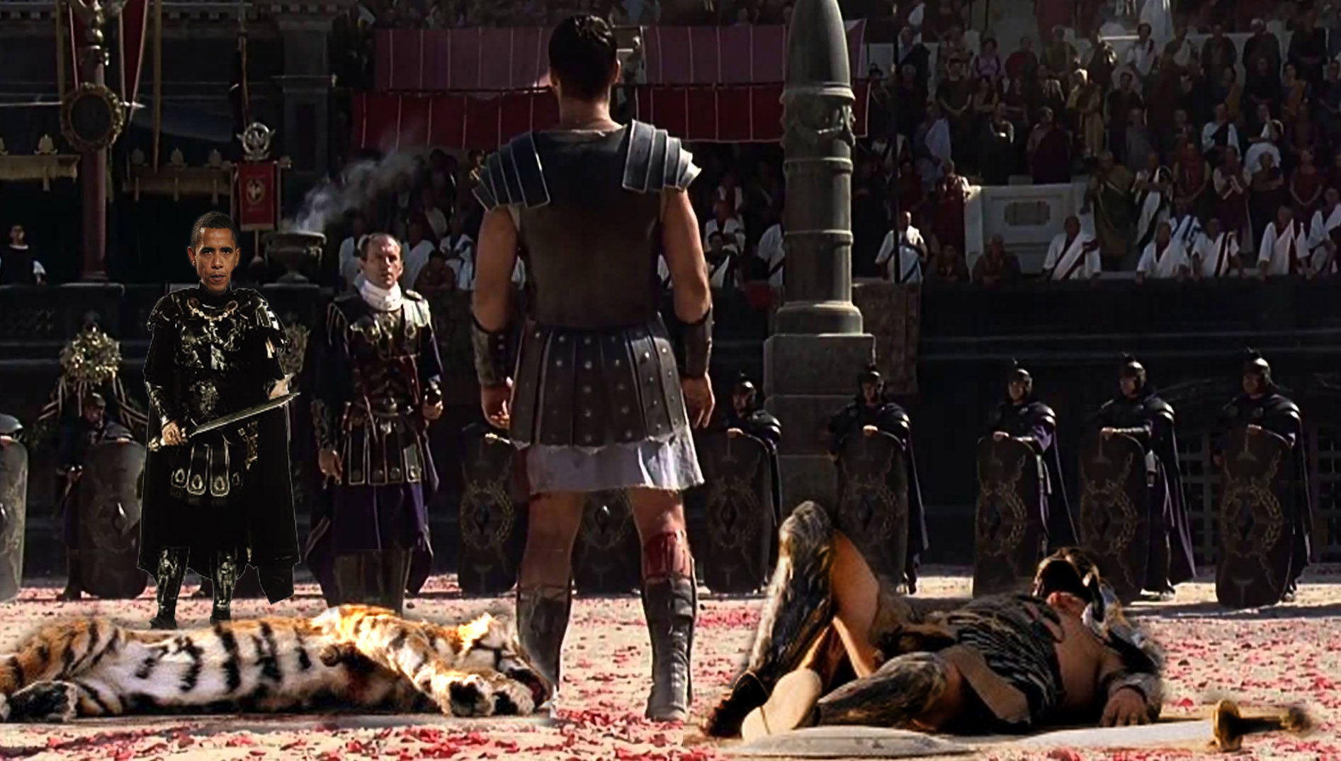 Christians Secretly Being Forced to Fight To Death In Roman Coliseum