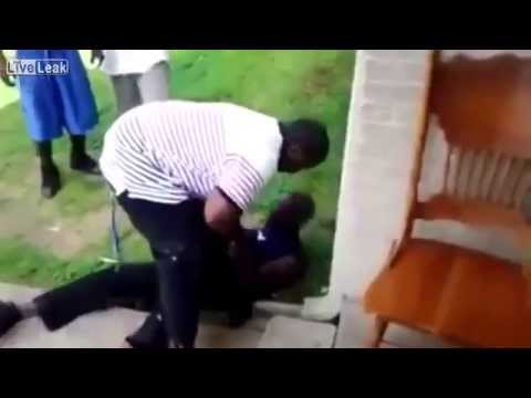 New Video Shows Mike Brown Beating Up Old Man
