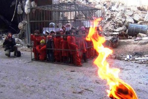 ISIS Now Threatening To Burn Cage Full of Children