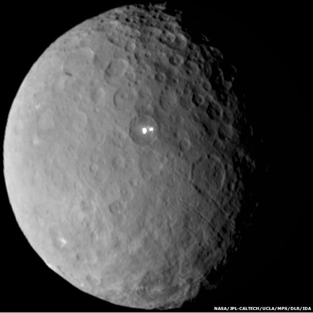 Dawn Space Probe Reaches Dwarf Planet Ceres, Will Begin Data Collection