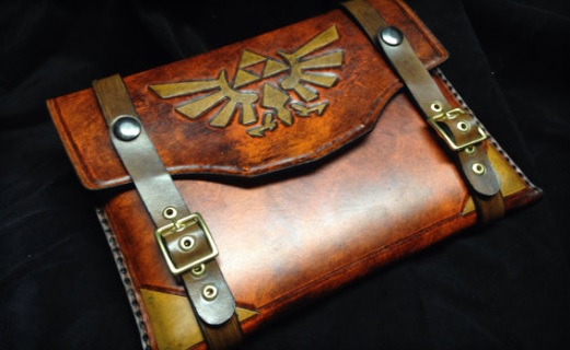 Legend of Zelda 'It's Dangerous To Go Alone' Leather iPad Case