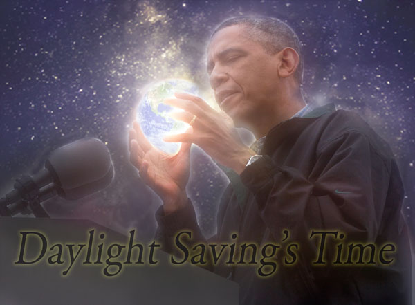 Obama Performs Illuminati Daylight Savings Time Ritual To Cast World Into Liberal Darkness, One Hour Earlier