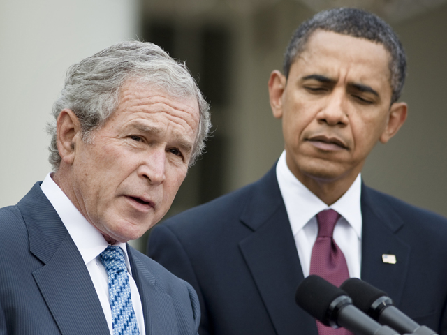 President George W Bush Confirms Obama is Conspiring with Iran, Losing to ISIS, Not Keeping the Russian In Their Place