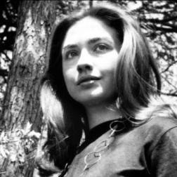Dreamy lesbian eyes and pert assets during her college years likely lead Hillary Clinton to be the target of many East coast lesbian toughs.  These early days groomed Hillary to have a soft spot for lesbianism and the gay agenda, which will leave her willing to continue Obama's plans to turn America homosexual vis-a-vis chemtrails.