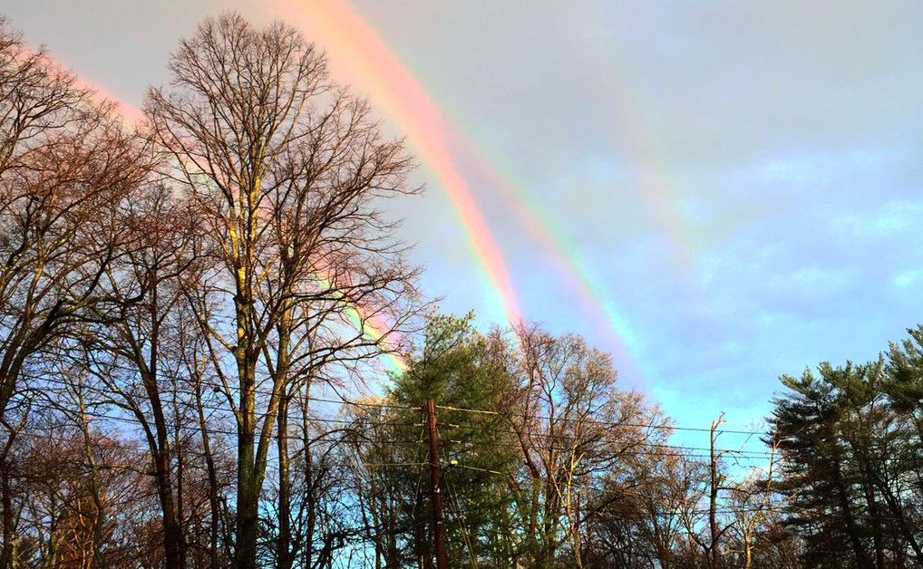 Obama Orders Quadruple Rainbow Over The Skies of New York