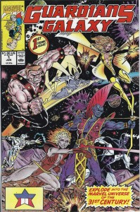 Guardians of the Galaxy #1 (1990 1st Series) NM- First issue in their own series!