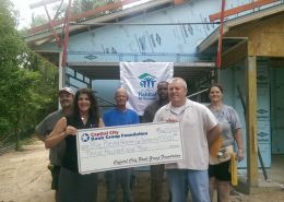 Capital City Bank presents check to Big Bend Habitat