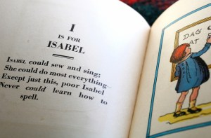 Alphabet book by Muffet