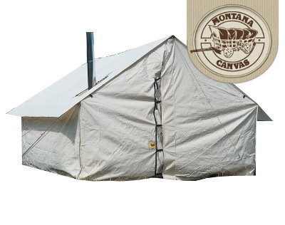 Montana hunting rentals canvas wall tents big boys toys for Cheap wall tent