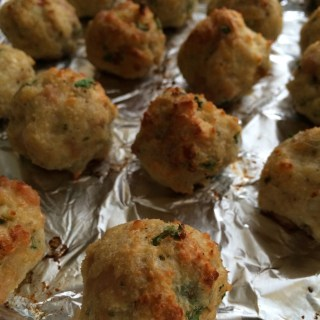 Italian Wedding Soup with Spicy Chicken Meatballs