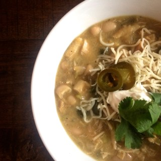 White Bean Chicken Green Chili