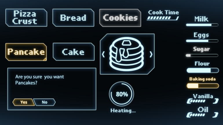 food replicator interface