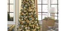 DONNER & BLITZEN 7.5' Christmas Lowell Cashmere Pine Tree