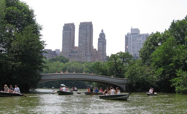 Boating Lake, Central Park, New York