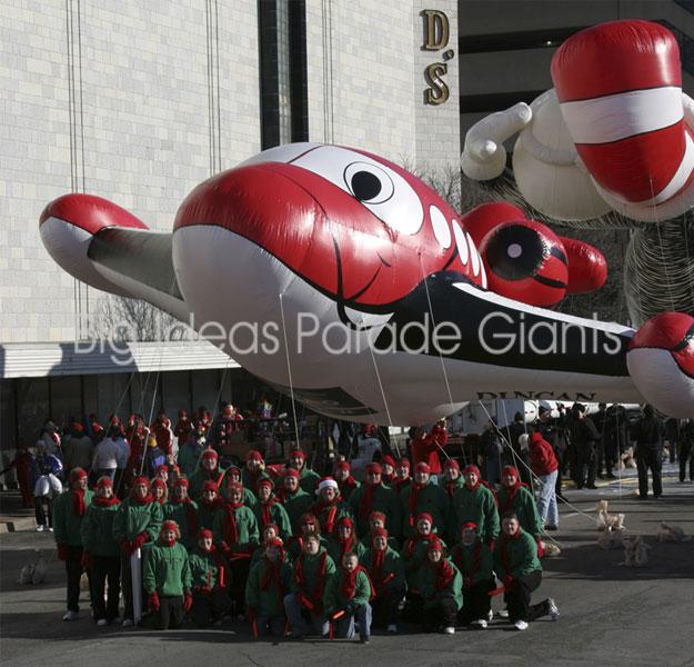 Duncan Jet Helium Parade Balloon