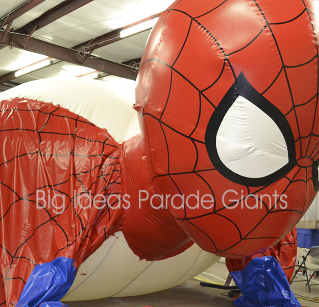 Spiderman Parade Balloon Project