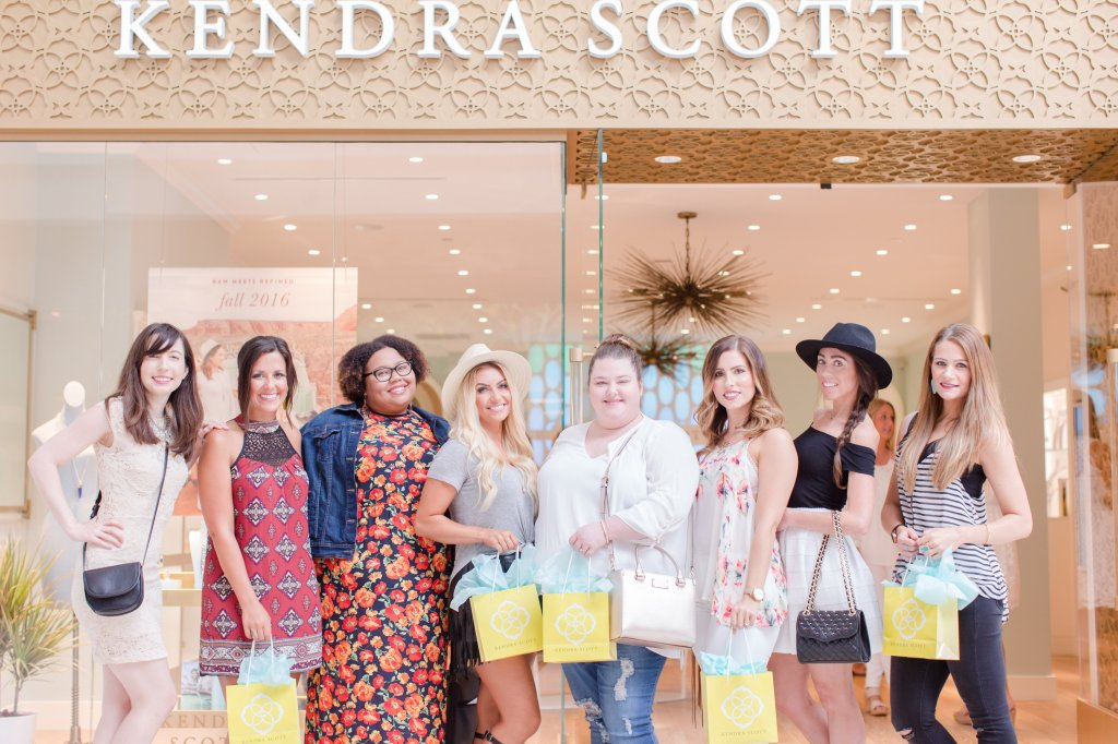 Kendra Scott Store opening at Keystone at the crossing: Indy Bloggers