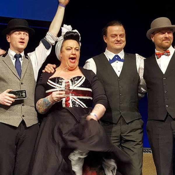 Kaz Hawkins Band wins the European Blues Challenge 2017