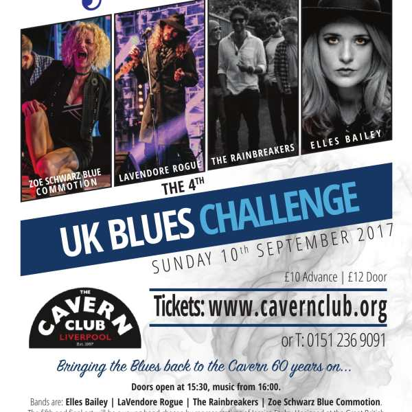 Proud To Support The UK Blues Challenge