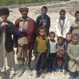 The locals that joined me for lunch (Kip Kut, Afghanistan)