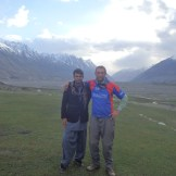 Farhad and me at Sarhad-e-Broghil