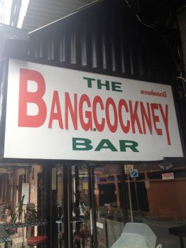 The Bangcockney Bar (Bangkok, Thailand)