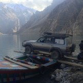 Boris' Roll on Roll Off Ferry (Attabad Lake, Pakistan)