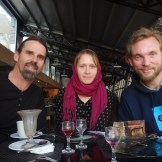 Lunch with Aussies at Darband (Tehran, Iran)