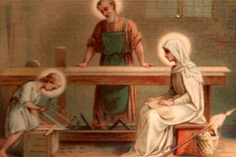 st joseph worker Young Jesus Mary