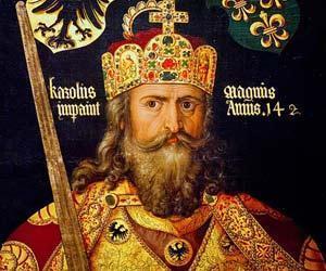 Emperor Charlemagne Charles Martel