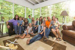 Fatzinger Family of 13 Children
