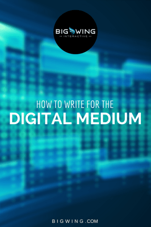 Writing For Digital Medium