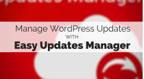 Easy Updates Manager for Wordpress slide
