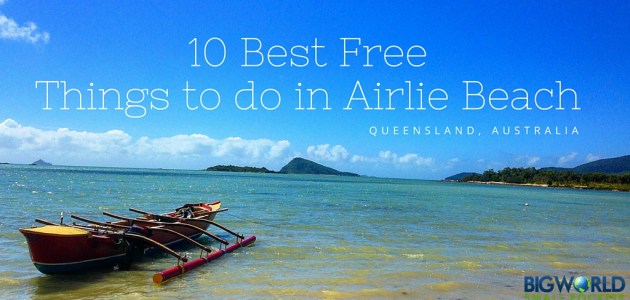 10 Best Free Things to do in Airlie Beach