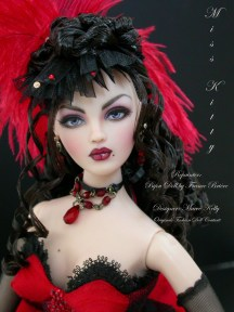 Charity Auction Gene Miss Kitty