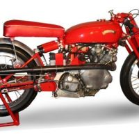 Red Rocket - 1950 Vincent Comet Racer