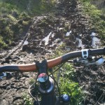 NorCal trails drying out, just not fast enough