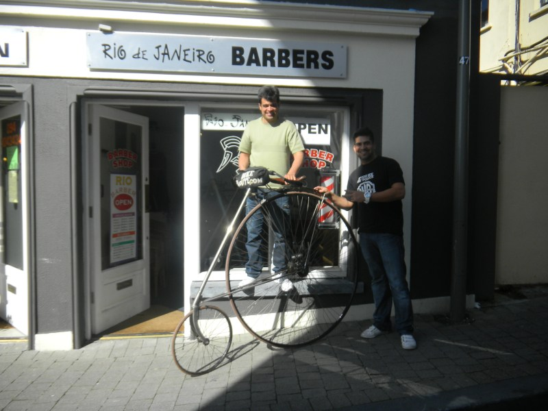 My Brazilian Barber, here in Ireland, Loves the Eagle