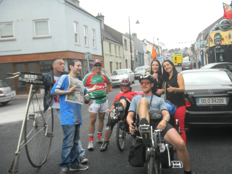 More German Cycle Tourists (on recumbents this time) in Ireland