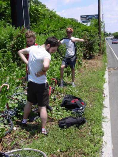 2004 Philly-NYC RoadsideFlatFixRt22