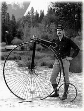 Robert Howe* (On an 1888 Penny Farthing)
