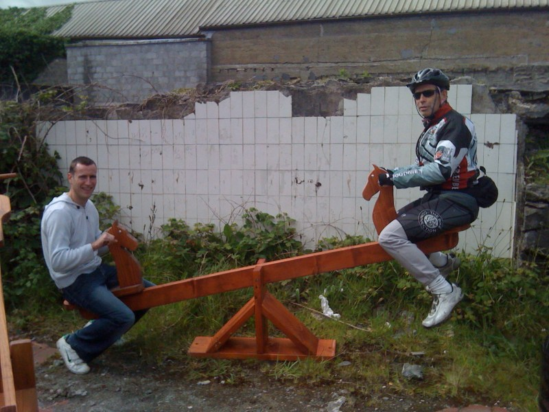 """Car Boot"" Teeter Totter"