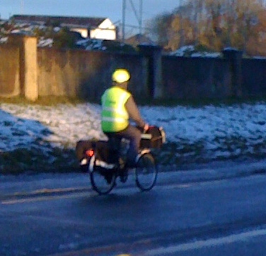 Irish Postal Service - They Bicycle Year Round!