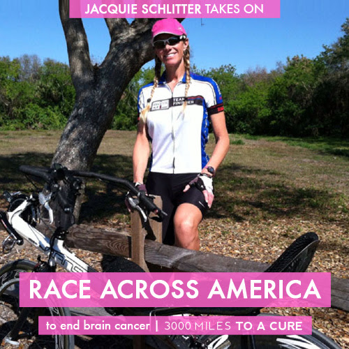 Jacquie Schliiter to Race RAAM on a Recumbent for a Brain Cancer Cure